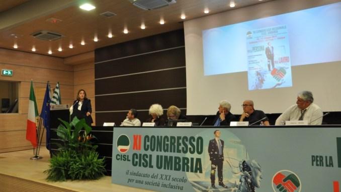 XI congresso Cisl Umbria, Marini, lavoro comune per affrontare le nuove sfide