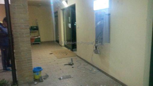 Fanno esplodere bancomat a Gualdo Cattaneo, ladri fuggono con bottino