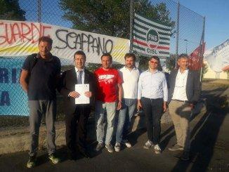 Stefano Candiani, Lega Nord e Polizia penitenziaria protesta continua