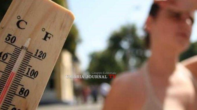 Il bacio di Giuda grande caldoallarme anche a Perugia e in Umbria