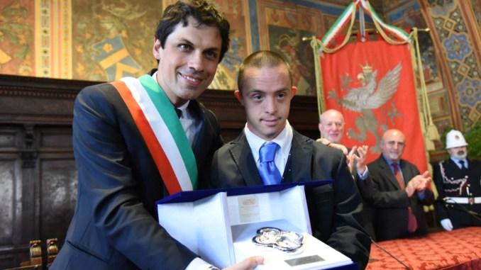 Celebrazioni del XX Giugno, iscrizione all'albo d'oro per Roberto Baciocchi