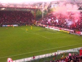 Perugia-Roma, oltre 15mila tifosi allo stadio Renato Curi
