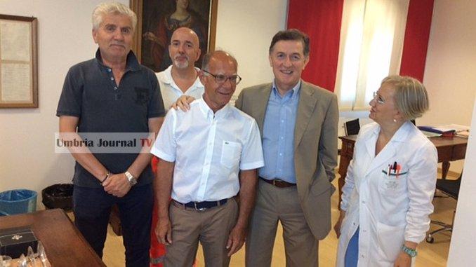 Mario Capruzzi lascia il servizio al Pronto soccorso e va in pensione