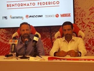 Perugia calcio, comincia l'era di Federico Giunti, poco più di vent'anni