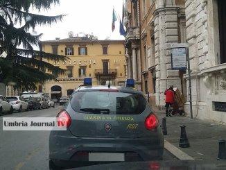 Blitz della guardia di Finanza presso gli uffici della Regione Umbria