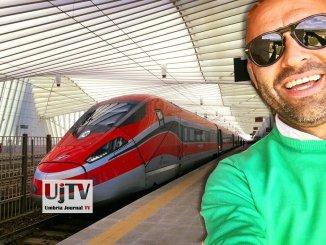 Nuova tratta del Frecciarossa Perugia-Milano, anche con collegamento verso Sud