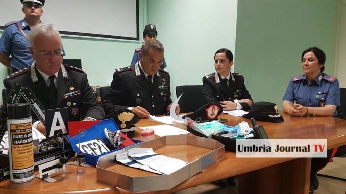 Incendi in Umbria, andati in fumo oltre 250 ettari di terreno