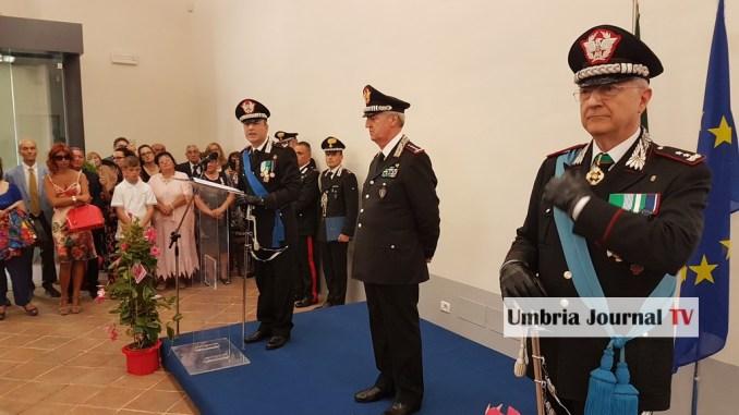 Massimiliano Della Gala è il nuovo Comandante LegioneCarabinieriUmbria