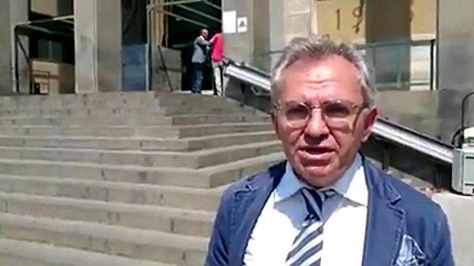 Valter Biscotti in Procura a Catania i cittadini siano persona offesa
