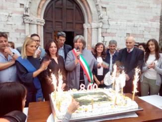 Vallo di Nera, Festa di popolo per gli 800 anni dalla nascita del borgo