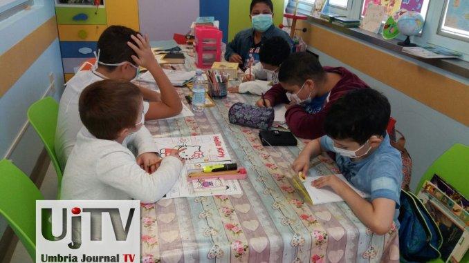 Piccoli pazienti di oncoematologia pediatrica di Perugia vanno a scuola