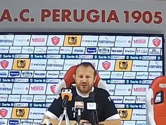 Perugia Calcio, Roberto Breda in conferenza stampa, dobbiamo vincere i duelli