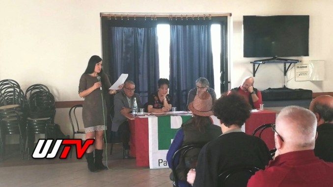 Sarah Bistocchi rieletta alla carica di segretario Pd Monteluce Perugia