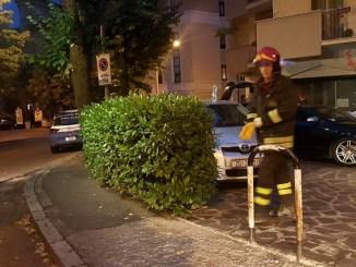 Carambola in via XX settembre a Perugia, cinque auto coinvolte