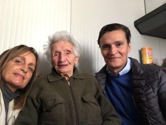 La forza di nonna Peppina, sfrattata dopo il sisma