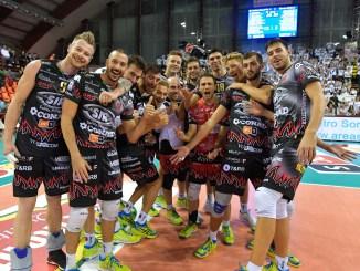 Volley, Sir Safety, ancora 3-0 con Padova! Staccato il biglietti per la Final Four