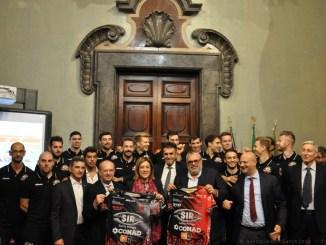 A Palazzo Donini Sir Safety Conad Perugia presenta la squadra