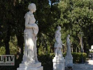 Art Bonus, riconsegnate alla città le statue del Frontone dopo i lavori di restauro