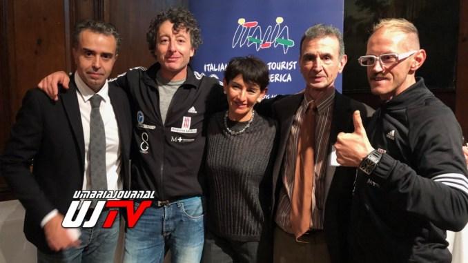 Leonardo Cenci lancia turismo sportivo umbro a New York