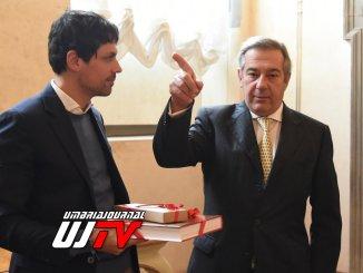 Sindaco Romizi incontra ambasciatore argentino Arnaldo Tomas Ferrari