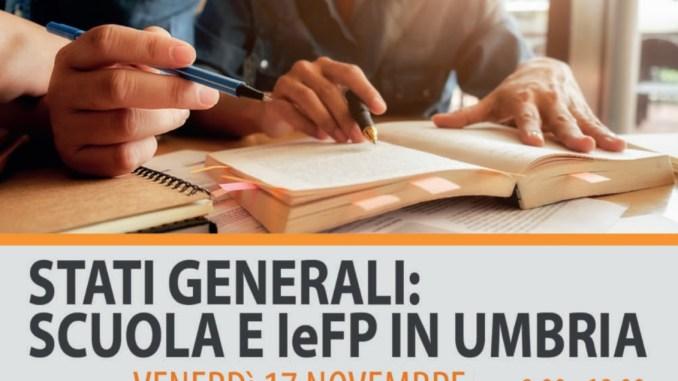 Stati generali della scuola a Villa Umbra di Pila, il programma