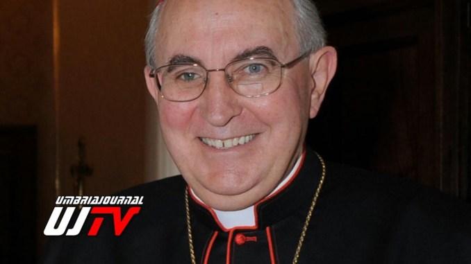 Cardinal ValliniLegato Pontificio Basiliche di Assisi, prime dichiarazioni