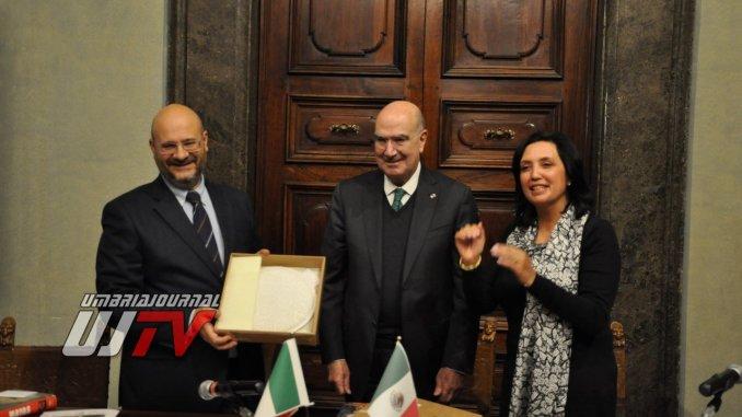 Presentato console onorario del Messico in Umbria, è Juan Josè Guerra Abud