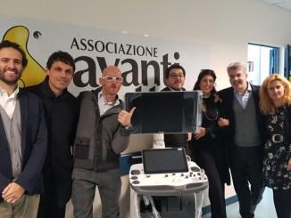 Avanti Tutta ha donato un ecografo al reparto di oncologia