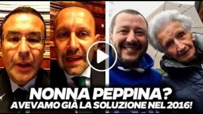 Stefano Candiani, Lega, sfratto Nonna Peppina, ristabilisce la chiarezza
