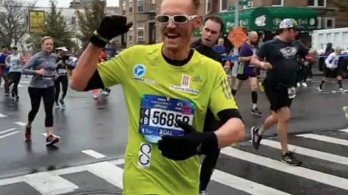 Leonardo Cenci batte il suo record del 2016 alla Maratona di New York