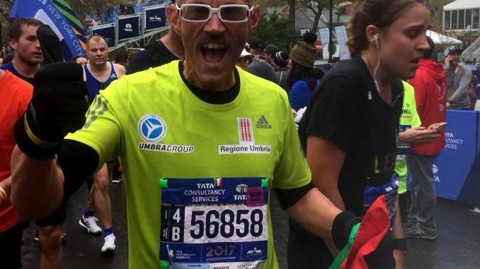 Maratona di New York, Leonardo Cenci il giorno dopo la gara