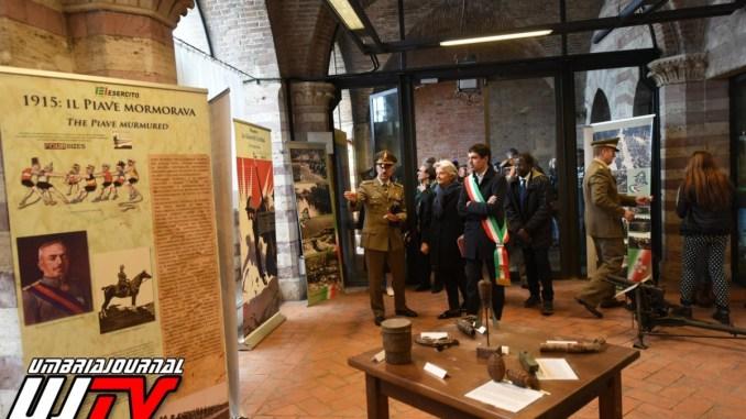 Inaugurata a Perugia la mostra intitolata La Grande Guerra