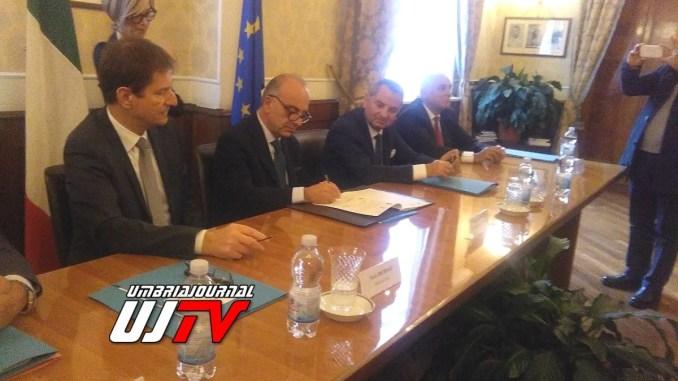 Rinnovo dell'intesa sicurezza a Terni, siglato patto in Prefettura