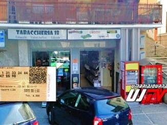Vincita 10eLotto a tabaccheria 18 di Perugia, gioca 6 euro e vince 60 mila