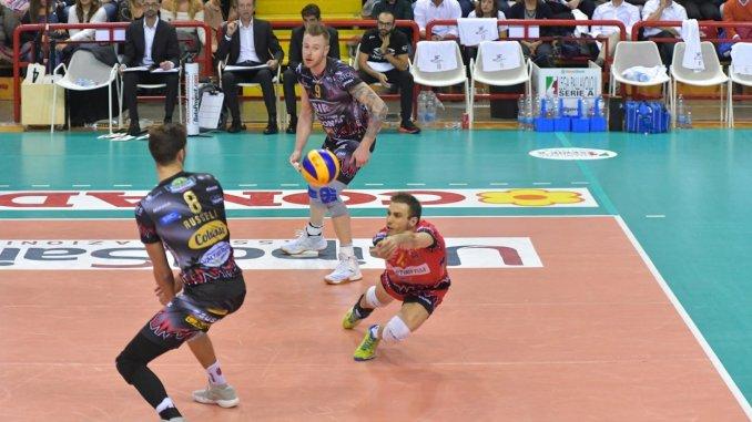 Sir Safety volley va a Ravenna, i bianconeri del Block Devils doppio allenamento