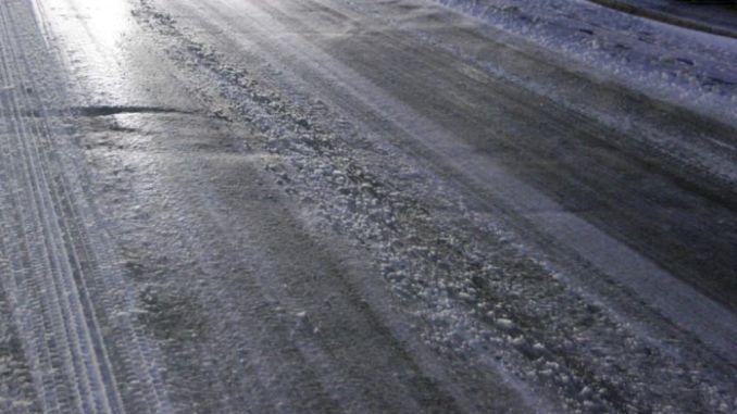 Incidenti causa della strada ghiacciata nel Ternano, tutto bloccato