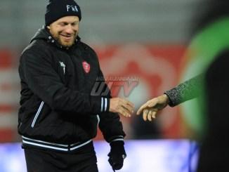Perugia Calcio, Breda: 'Bene tutto tranne il risultato. Grazie tifosi'