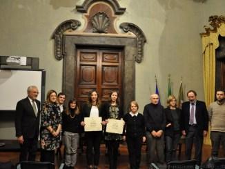 """Consegna del premio di laurea """"Crispolti -Peccati"""" a Palazzo Donini"""