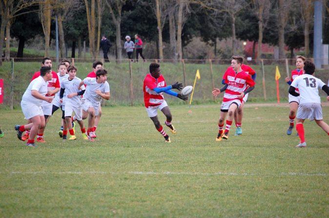 Barton Rugby Perugia under 14 azione3