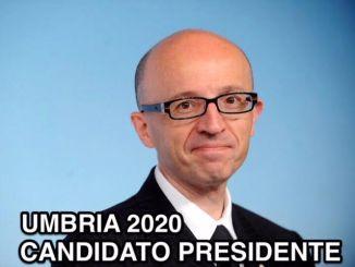 Claudio Ricci si candida alla Presidenza dell'Umbria nel 2020