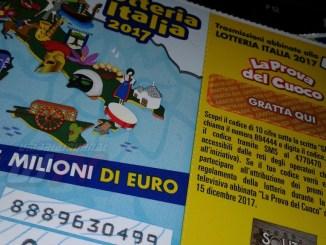 Lotteria Italia, la dea bendata porta in Umbra solo 70 mila euro a Magione e Baschi