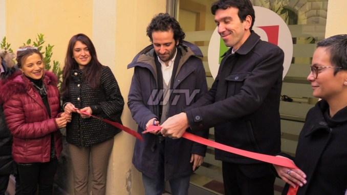 Maurizio Martina inaugura sede Pd Perugia, parole di fuoco per D'Alema e Salvini