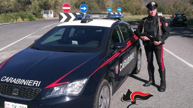 Furti in abitazione, carabinieri di Amelia recuperano cassaforte con armi rubate