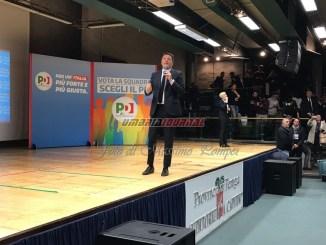 Politiche 2018, Matteo Renzi a Perugia, paura sentimento che in politica rischia di bloccare tutti