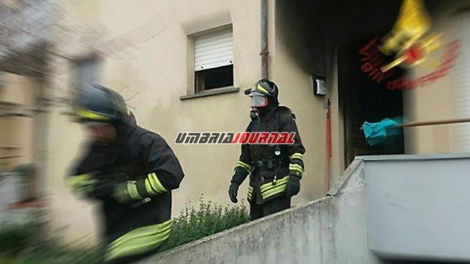 Anziana muore tra le fiamme a Montegabbione di Orvieto, a fuoco anche la casa