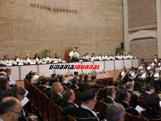 Anno Accademico Università di Perugia, Rettore Moriconi, manca politica di Governo