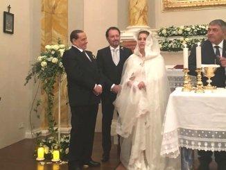Matrimonio di Catia Polidori super blindato, c'era anche Silvio Berlusconi al Castello di Solfagnano