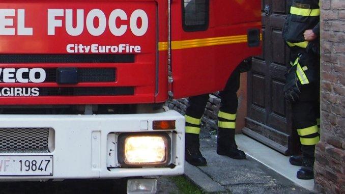 Incendio al centro prelievi dell'ospedale di Foligno, nessun ferito