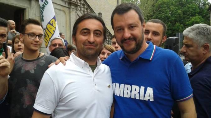 Consigliere comunale della Lega Umbria, minacciato da ladro a casa sua