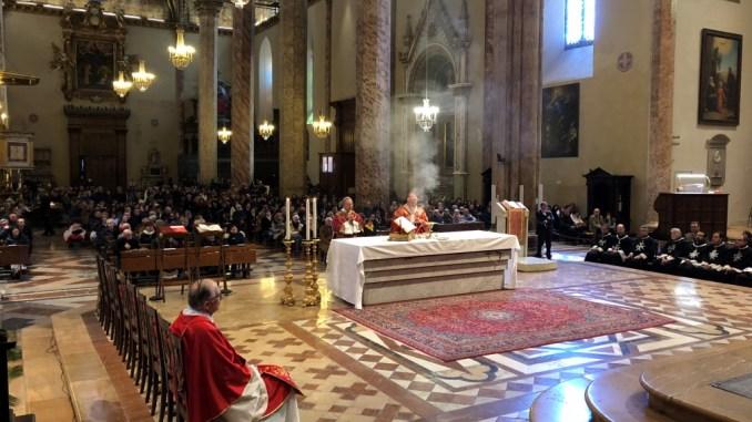 Celebrata la Domenica delle Palme nella cattedrale di San Lorenzo